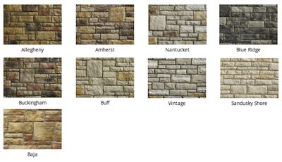 Limestone Stone colors by Heritage Stone