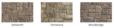 Natural Cut Stone color by Heritage Stone
