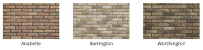 Thin Brick Stone color by Heritage Stone